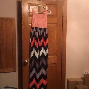 Long colorful dress
